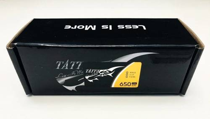 Akumulator Tattu 650mAh 11,1V 75C 3S1P