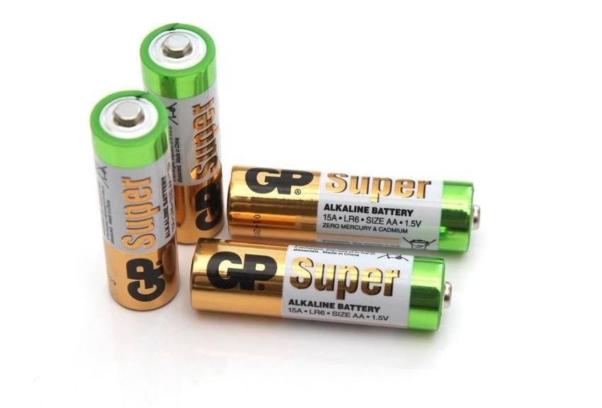 Bateria AA 1,5V GP Super Alkaline