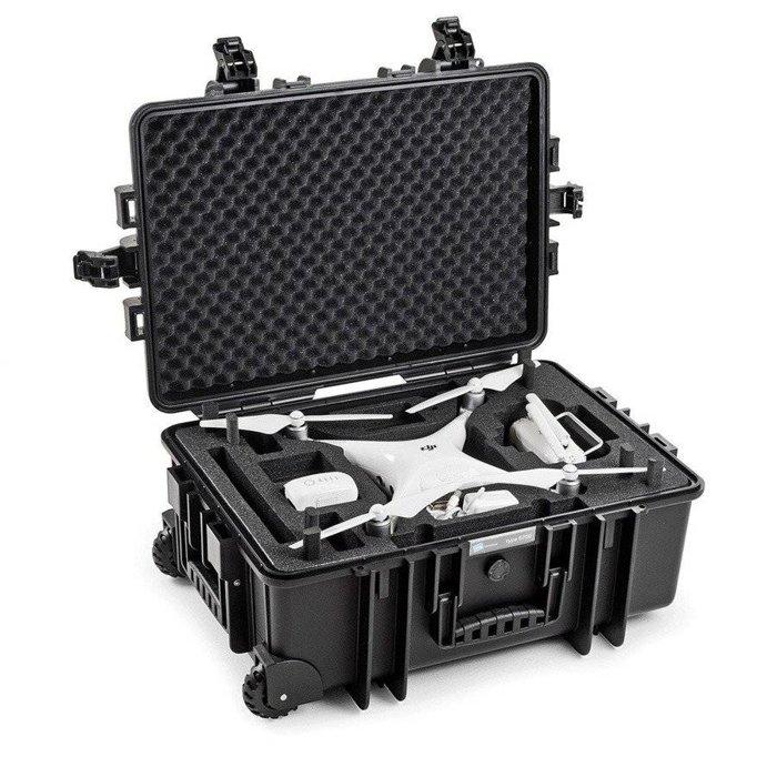 Walizka B&W typ 6700 do DJI Phantom 4 RTK / Pro / Advanced / Obsidian - czarna