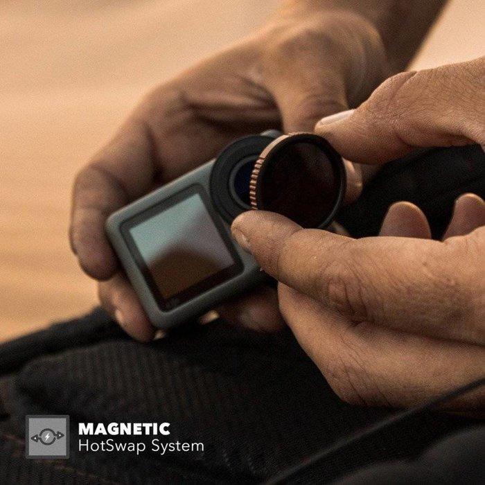 Zestaw 3 filtrów PolarPro Cinema Series do DJI Osmo Action
